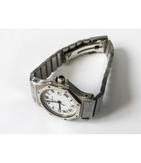 Cartier Santos Automatic Lady Watch Stainless steel 31mm