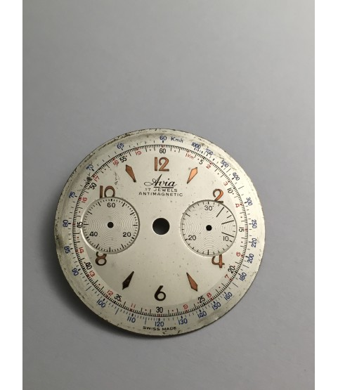 Landeron 149 Avia Chronograph Dial part 33.5 mm