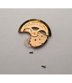 Omega 471 rotor oscillating and train bridge part
