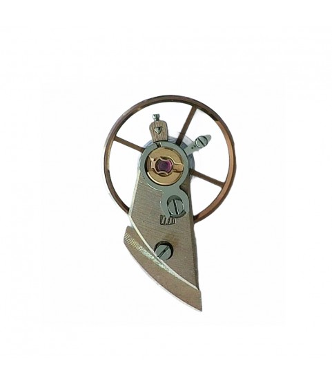 Omega 711 balance wheel with bridge part