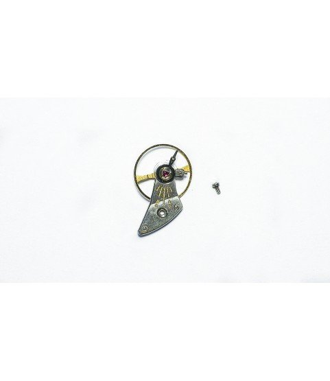 IWC 1852 balance wheel with bridge part