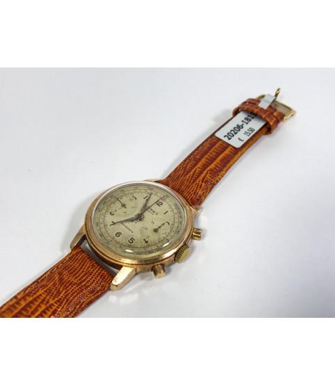 Vintage Admes Geneve Chronograph Men's Watch Landeron 48