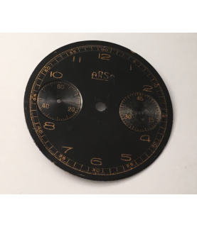 Venus 150 ARSA (Auguste Reymond) chronograph dial