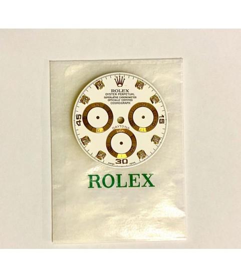 Rolex Daytona white diamonds dial for 116528, 116523