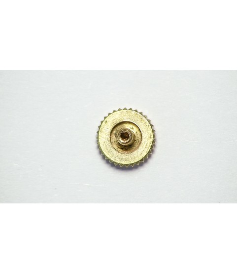 Patek Philippe 18k rose gold crown part 4.92mm x 1.44mm