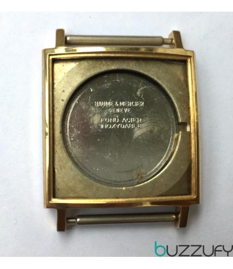 Baume & Mercier Baumatic 1215 gold plated case