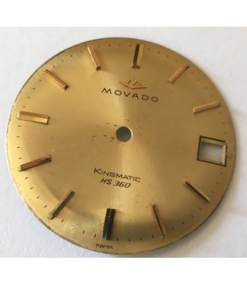 Movado Kingmatic HS 360 dial part caliber 408