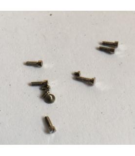 Zenith caliber 106-50-6 bridge screws 10pcs parts