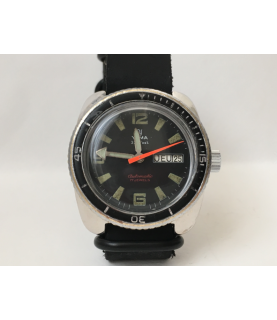 Vintage Yema 330 Feet Automatic Diver Watch 37 mm 1970s