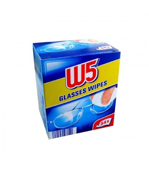 W5 Glasses Lens Cloths 54 Pcs Wipes Cleaning Glasses Camera Phone