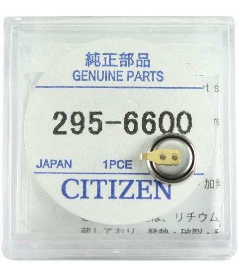 295-6600 Original Citizen Capacitor Battery 295-66 for Eco Drive