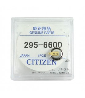Citizen 295-66 (295-6600) MT616 capacitor battery for Eco Drive