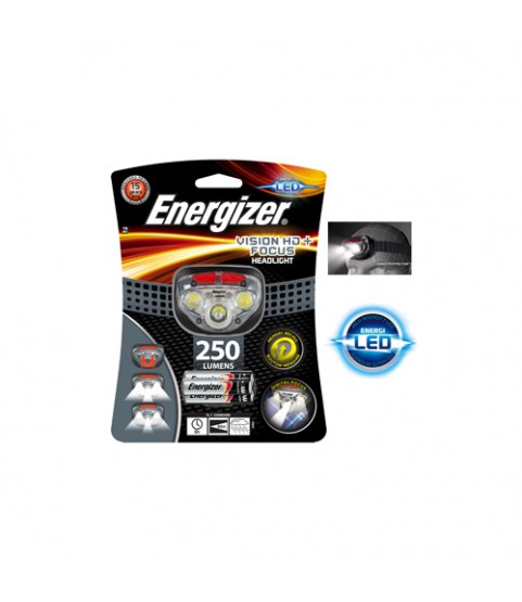 Energizer Head Torch, Vision HD Focus Headlight, Batteries Included