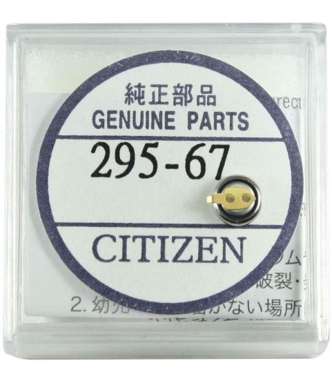 Citizen 295-6700 Watch Accumilator/Capacitor - Kinetic, Eco Drive Battery