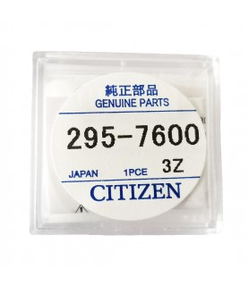 Citizen 295-76 (295-7600) MT516F capacitor battery for Eco-Drive watches