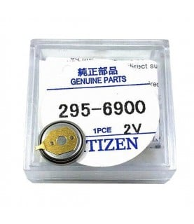 Citizen 295-69 (295-6900) capacitor battery for Eco-Drive watches