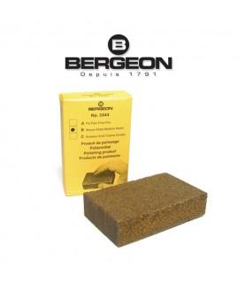 Bergeon 5444-B block of adhesive powder for polishing, unrusting, cleaning satin finish
