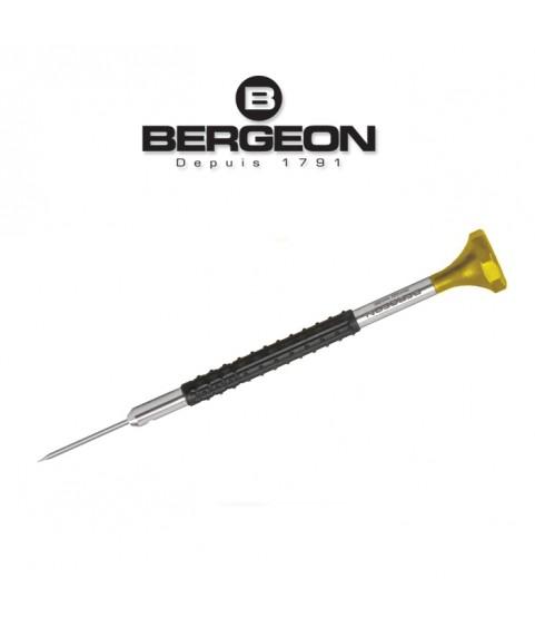 Bergeon 6899-080 Ergonomic Screwdriver 0.80mm Swiss Made Yellow