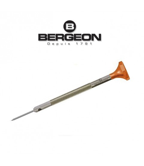 Bergeon 30081-050 INOX screwdriver 0.50mm orange