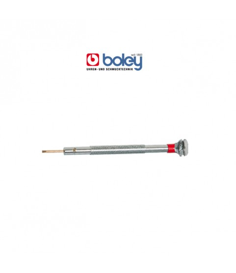 Boley stainless steel screwdriver 0.80mm yellow