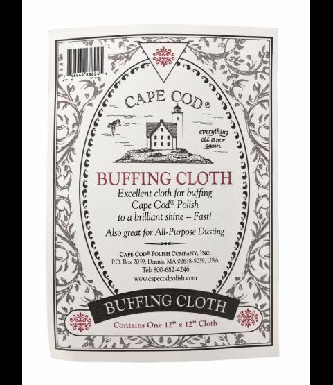 Cape Cod buffing cloth