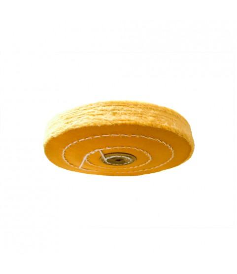Augusta high-Gloss polishing Buffing Cotton disc 5x50 Germany