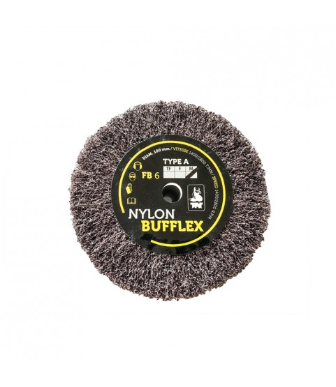 Bufflex Flap Wheel for fine Grinding disc 120 Medium 100 x 25 mm