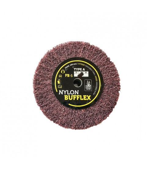 Bufflex Flap Wheel for fine Grinding disc 240-very fine 100 x 25 mm