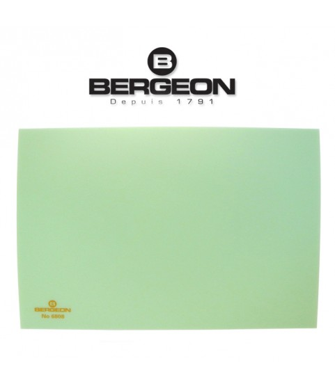 Bergeon 6808-V mat bench top, hard – Anti-Skid for watchmakers