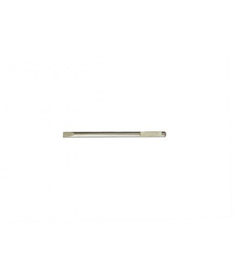 Screwdriver stainless steel spare blade V-form 0.50mm