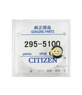 Citizen 295-51 (295-5100) capacitor battery for Eco-Drive watches