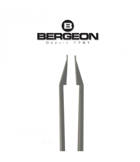 Bergeon 6460-P plastic battery tweezer with battery hatch opener for Swatch watches
