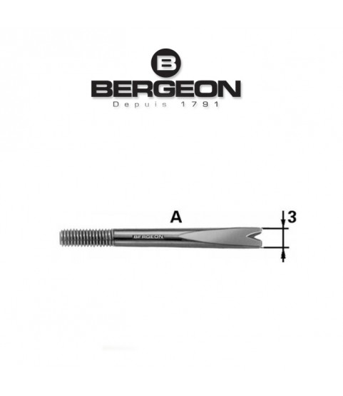 Bergeon 6767-A replacement spare fork for spring bar tool 3.0mm
