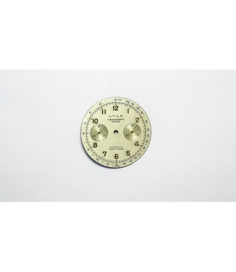 Venus cal 188 Lylo watch dial part