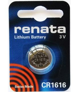 Renata- Lithium Battery 3v Cr1616 Swiss Made