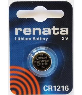 Renata CR12161Pk No. Cr1216 Lithium Coin Battery