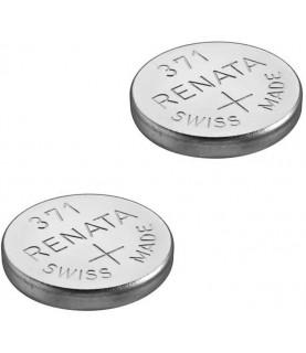 2 x Renata - 371 (SR920SW) - Wrist Watch Battery