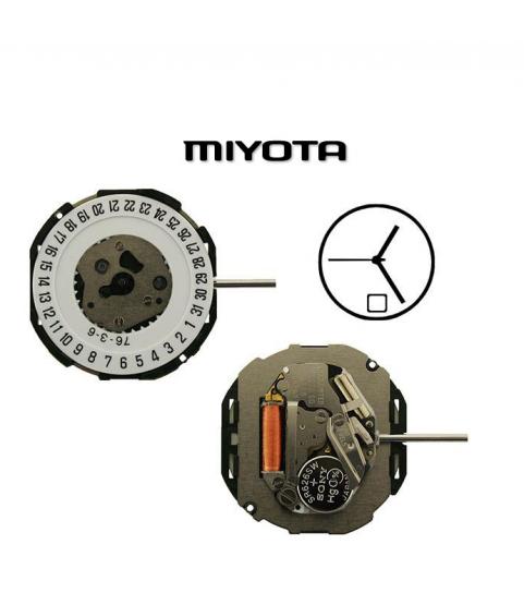 MIYOTA 2115 SC-D(3) 10 1/2