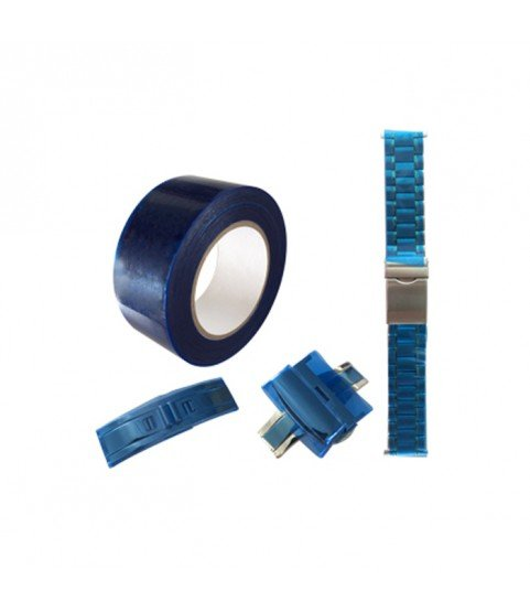 Protective foil on spools anti scratches for watches, bracelet, clasp, jewelry 30mm
