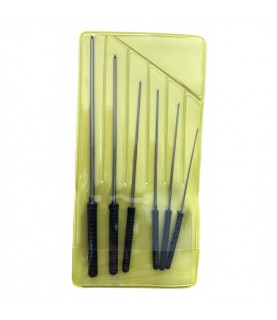 Boley smoothing broaches assortment 6pcs in pack