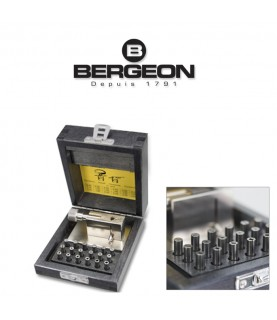 Bergeon 3010 watchmaker tool for tightening the pipes of hands & winding crowns