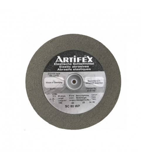 Artifex elastic abrasive grinding wheel silicon carbide for Rolex SC 80 WP