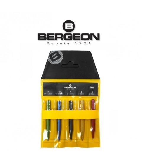 Bergeon 6122 trimming tools for quartz watches