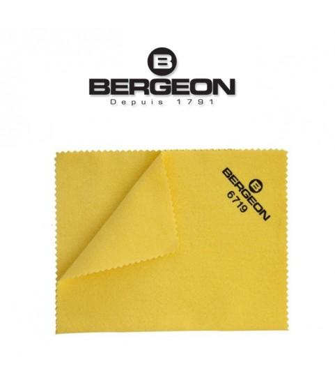 Bergeon 6719 impregnated pure cotton polishing cloth gold silver