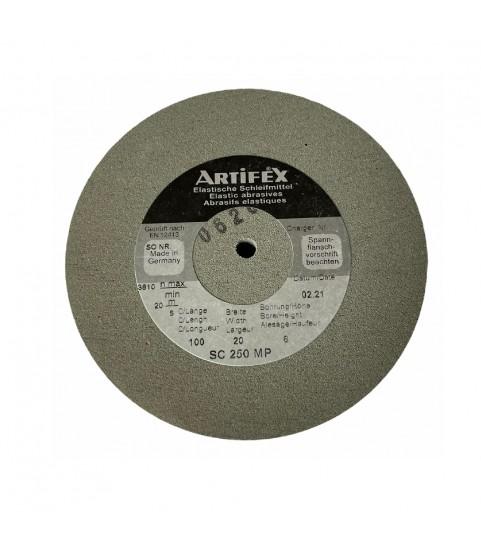 Artifex elastic abrasive grinding wheel silicon carbide for Rolex SC 250 MP
