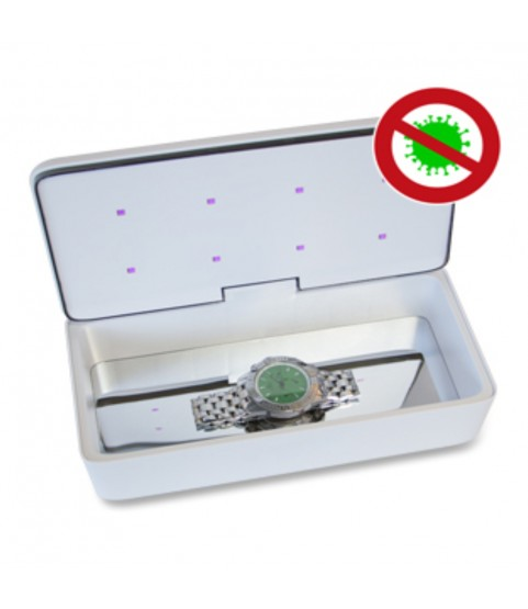 UVC-LED sterilization device watches, jewelry, phones and small tools