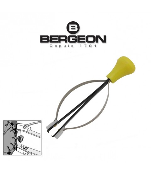 Bergeon 4344-9 hand remover presto tool, removing crowns with split stems