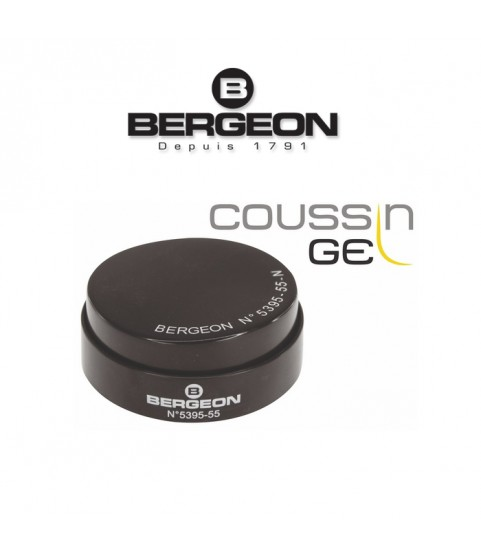 Bergeon 5395-55-N soft gel casing cushion 55 mm black