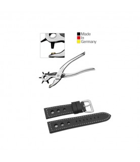 Watchmaker Revolving punch plier Leather Strap Hole Tool