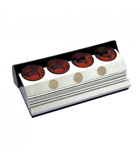 Oil block stand chrome plated with four oil cups watch tool Germany